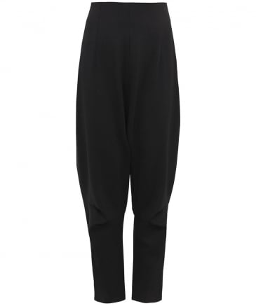 Oversized Drop Crotch Trousers