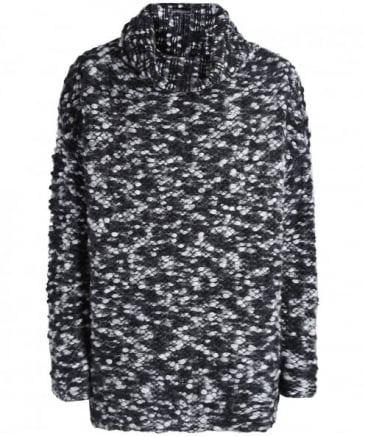 Merino Wool Oversized Bobble Jumper