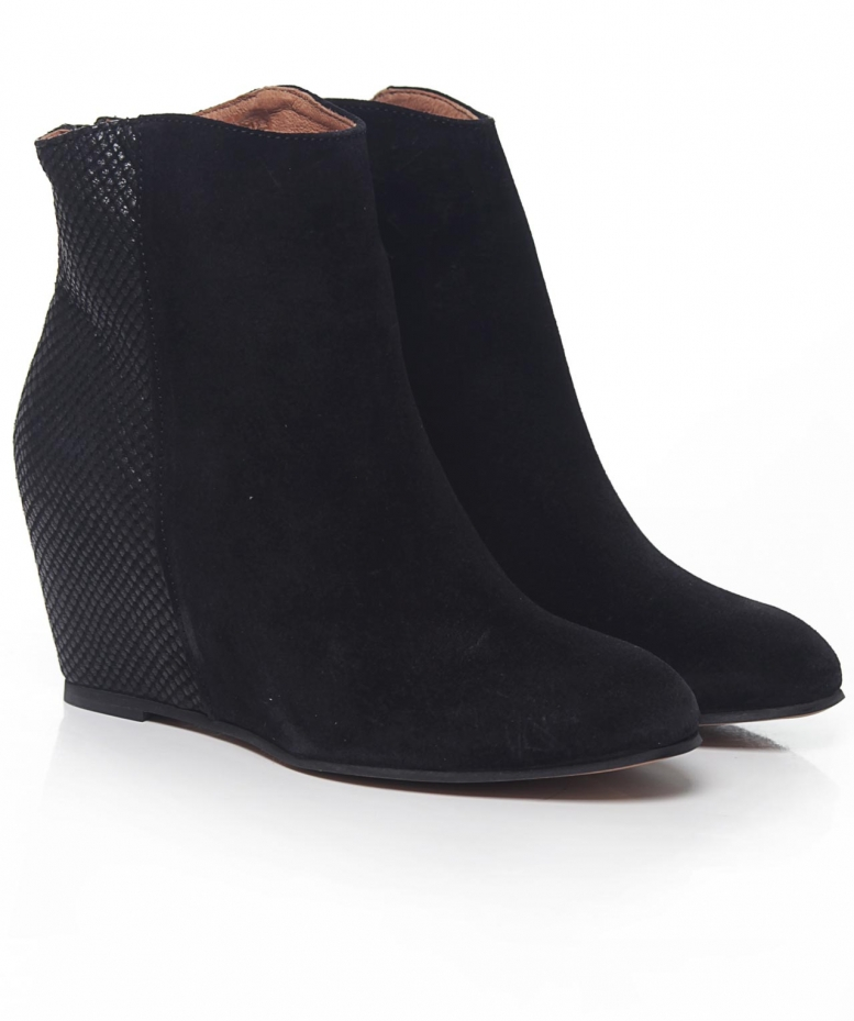h by hudson sefton suede boots available at jules b