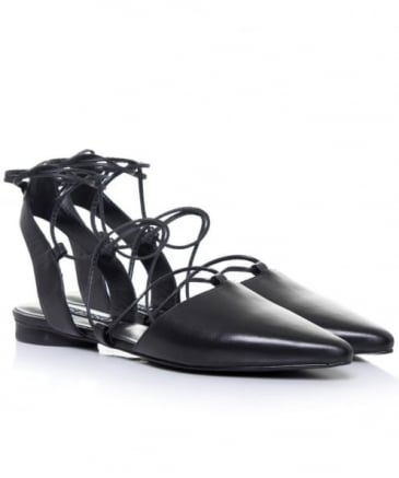 Gordon Pointed Lace Up Shoes