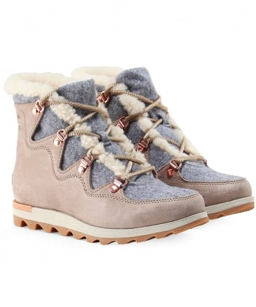 Suede Sneakchic Alpine Holiday Boots