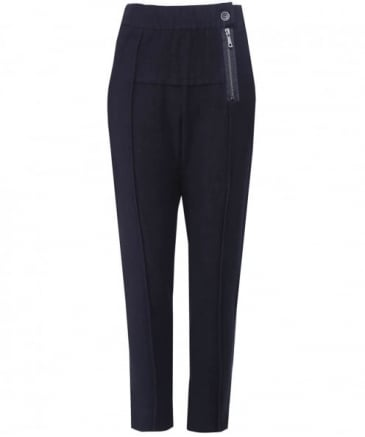 Jersey Erteel Drop Crotch Trousers