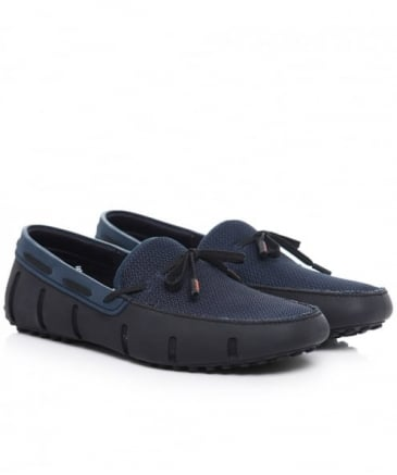 Lace Driver Loafers