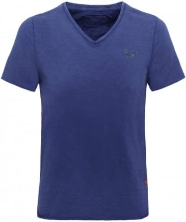 V-Neck Dyed T-Shirt