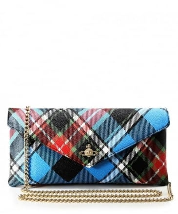 Pebbled Edinburgh Chain Clutch