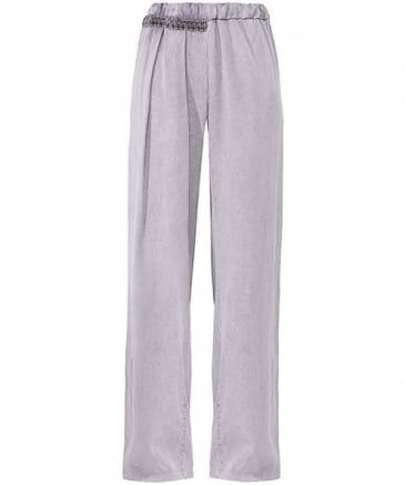 Wash Wide Leg Trousers